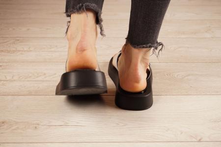 Papuci din piele naturala nude MSSD3221-21 [4]