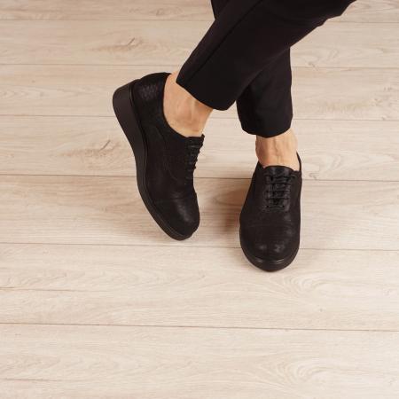 Pantofi dama din piele naturala croco MSPD61320-200