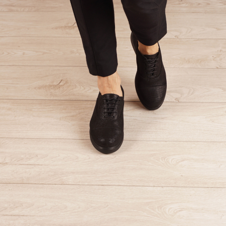 Pantofi dama din piele naturala croco MSPD61320-201