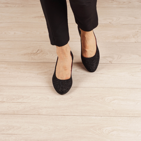 Pantofi dama din piele naturala cu imprimeu MSPD1861-20 [2]