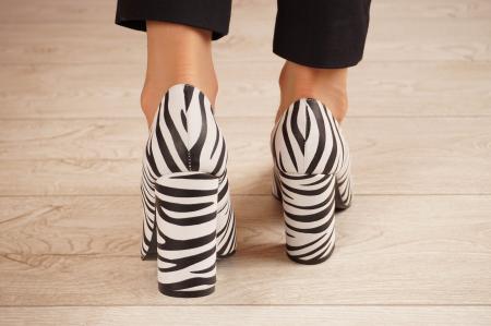 Pantofi dama din piele naturala cu imprimeu MSPD190-26-20 [3]