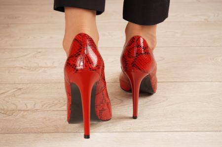 Pantofi dama din piele naturala cu imprimeu MSPD190-28-20 [3]