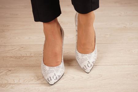 Pantofi dama din piele naturala cu imprimeu MSPD190-37-20 [2]