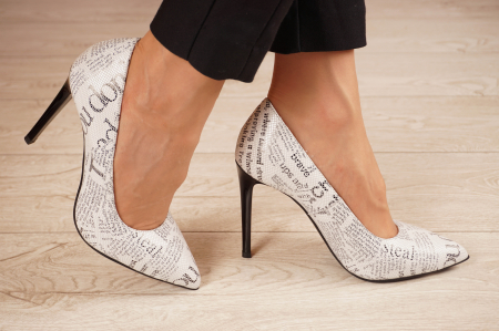 Pantofi dama din piele naturala cu imprimeu MSPD190-37-20 [1]