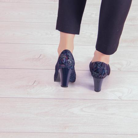 Pantofi dama din piele naturala cu imprimeu MSPD52017-4-20 [3]