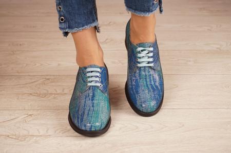 Pantofi dama din piele naturala cu imprimeu MSPD53017-5-20 [3]