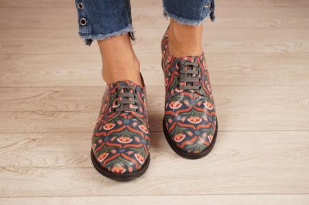 Pantofi dama din piele naturala cu imprimeu MSPD53017-6-20 [3]