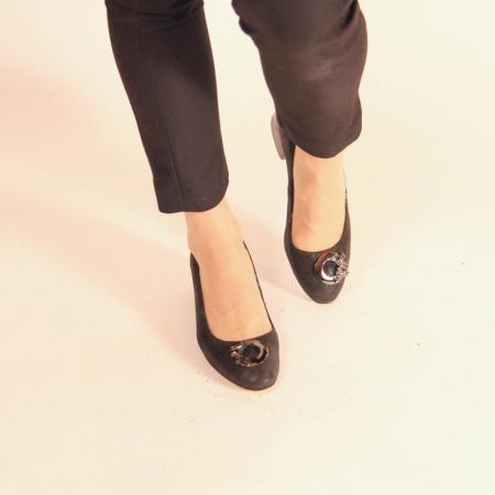 Pantofi dama din piele naturala cu imprimeu MSPD53720-20 [2]