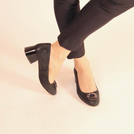 Pantofi dama din piele naturala cu imprimeu MSPD53720-20 [1]
