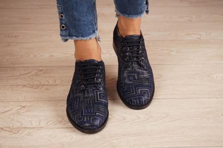 Pantofi dama din piele naturala cu imprimeu MSPD54620-1-20 [3]