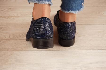 Pantofi dama din piele naturala cu imprimeu MSPD54620-1-20 [4]