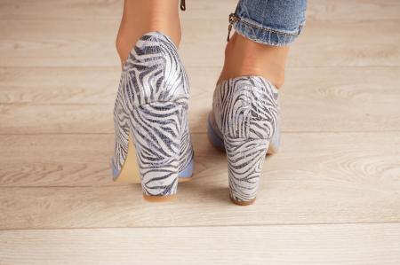 Pantofi dama din piele naturala cu imprimeu MSPD57619-20 [3]