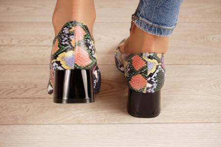 Pantofi dama din piele naturala cu imprimeu MSPD59520-20 [3]