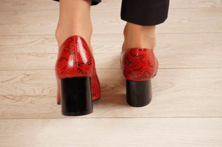Pantofi dama din piele naturala cu imprimeu MSPD59720-20 [3]