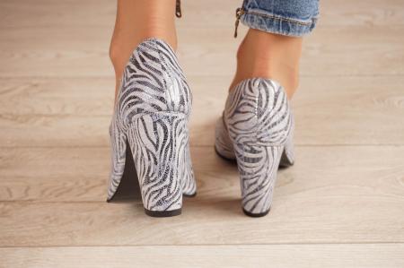 Pantofi dama din piele naturala cu imprimeu MSPD799-5-20 [3]