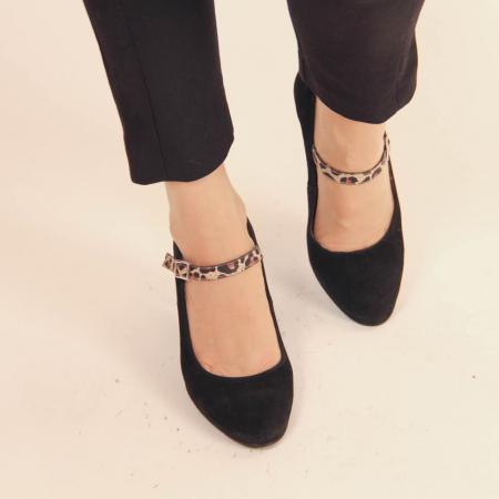 Pantofi dama din piele naturala intoarsa MSPD62017-20 [1]