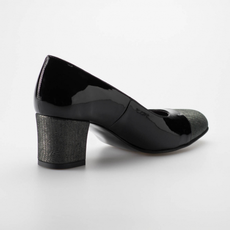 Pantofi dama din piele naturala lacuita MSPD56318-19 [1]