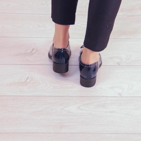 Pantofi dama din piele naturala lacuita MSPD59419-202