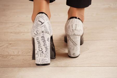 Pantofi dama din piele naturala lacuita neagra MSPD53018-1-20 [3]