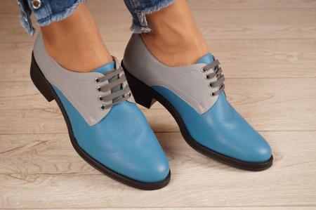 Pantofi dama din piele naturala MSPD53017-11-200