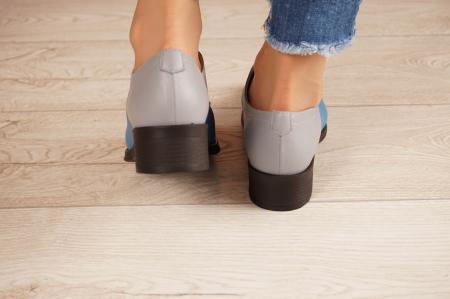 Pantofi dama din piele naturala MSPD53017-11-204