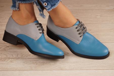 Pantofi dama din piele naturala MSPD53017-11-201