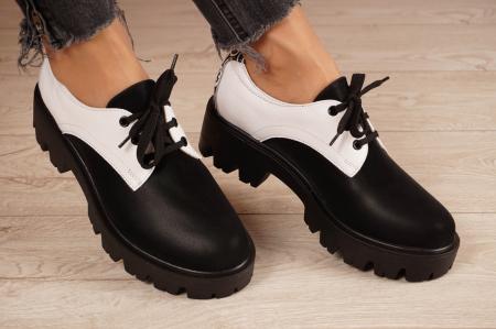 Pantofi dama din piele naturala MSPD56320-21 [0]