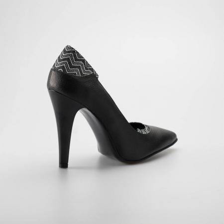 Pantofi dama din piele naturala MSPD51119-19 [1]
