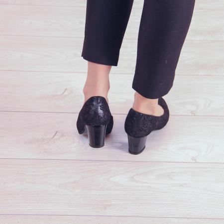 Pantofi dama din piele naturala cu imprimeu MSPD190-8-20 [3]