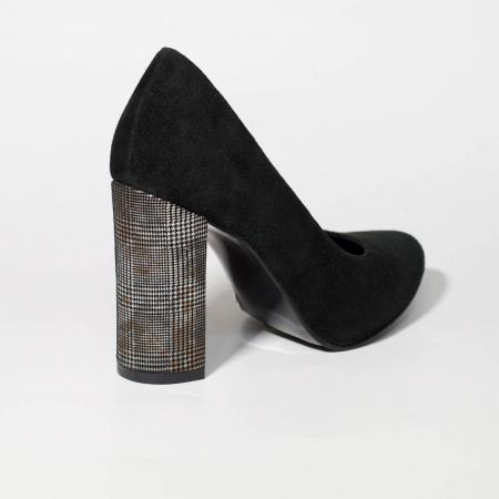Pantofi dama din piele naturala intoarsa MSPD190-25-19 [1]