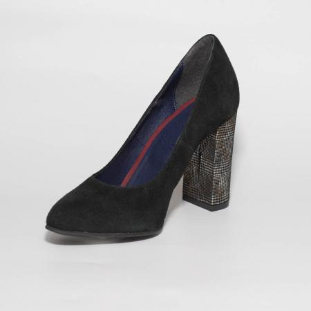 Pantofi dama din piele naturala intoarsa MSPD190-25-19 [2]