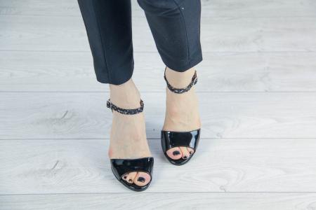 Sandale dama din piele naturala lacuita MSSD2119-20 [2]