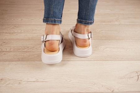 Sandale din piele naturala alba MSSD0321-21 [4]