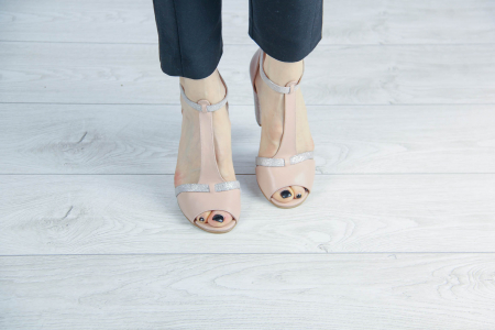 Sandale din piele naturala bej MSSD3419-20 [2]