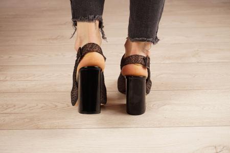 Sandale din piele naturala cu imprimeu MSSD1020-20 [4]