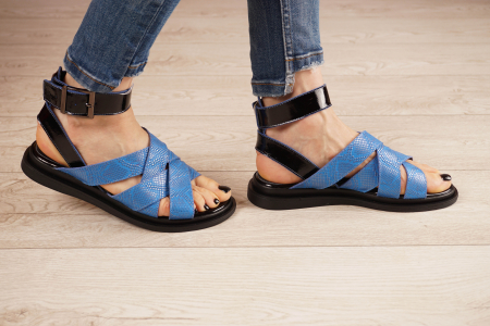 Sandale din piele naturala cu imprimeu  MSSD1221-21 [2]