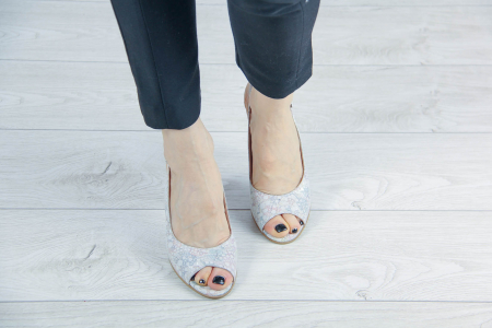Sandale din piele naturala cu imprimeu MSSD3411-10-20 [2]