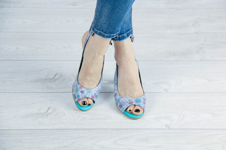 Sandale din piele naturala cu imprimeu MSSD3411-11-20 [1]