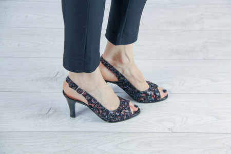 Sandale din piele naturala cu imprimeu MSSD3411-14-20 [0]