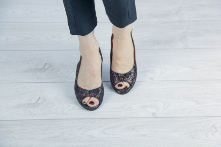 Sandale din piele naturala cu imprimeu MSSD3411-3-20 [2]