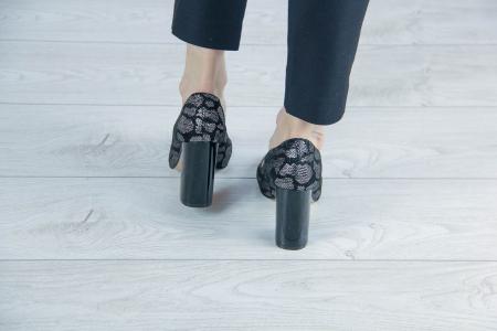 Pantofi decupati din piele naturala cu imprimeu MSSD4220-4-20 [3]
