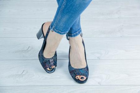 Sandale din piele naturala cu imprimeu MSSD52617-2-20 [1]
