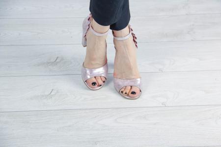 Sandale din piele naturala cu imprimeu MSSD5419-20 [1]
