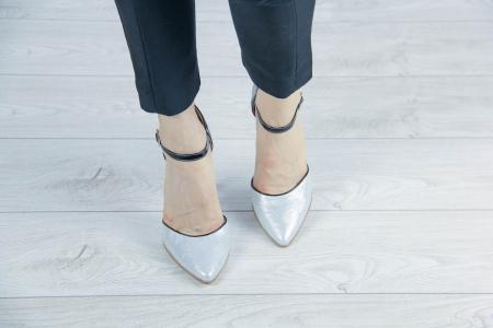 Pantofi decupati din piele naturala cu imprimeu MSSD5620-20 [2]