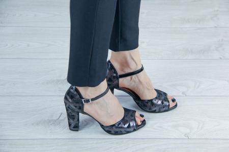 Sandale din piele naturala cu imprimeu MSSD6018-20 [0]