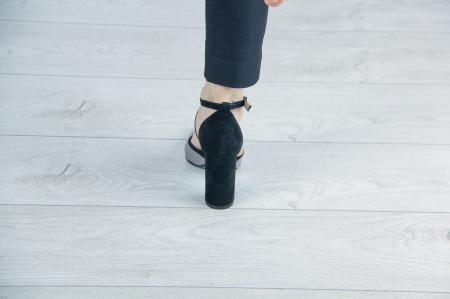 Pantofi decupati din piele naturala cu imprimeu MSSD6318-19 [2]