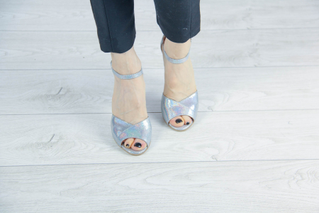 Sandale din piele naturala cu imprimeu MSSD6320-20 [2]