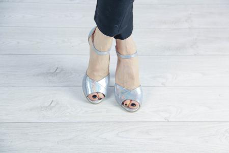 Sandale din piele naturala cu imprimeu MSSD6320-20 [1]