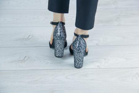 Sandale din piele naturala cu imprimeu MSSD7218-20 [3]
