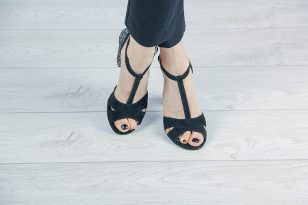 Sandale din piele naturala cu imprimeu MSSD7218-20 [1]